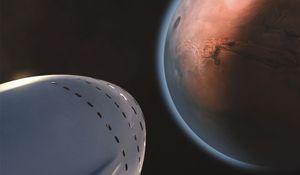 SpaceX chce vyslat v roce 2024 k Marsu loď s posádkou