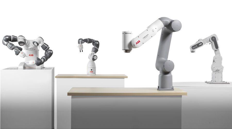 Právě představené inovativní koboty ABB cílí na méně zkušené uživatele