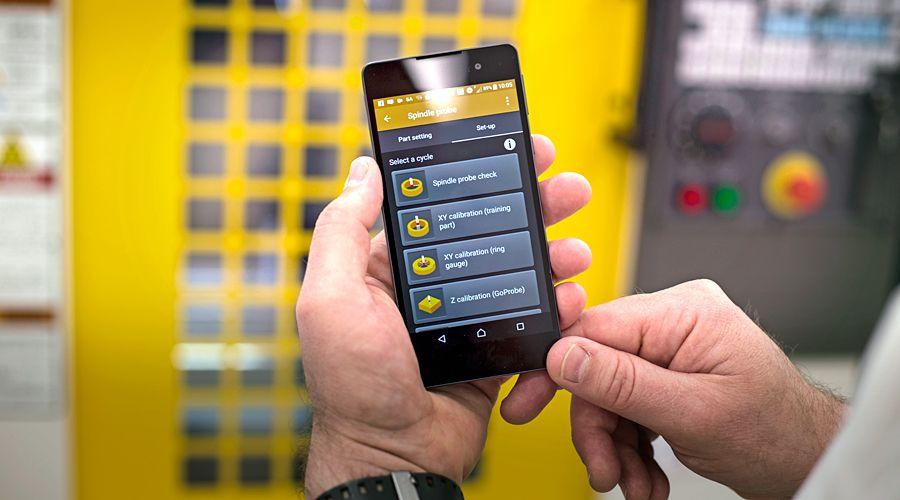 Ovládání měřicí sondy pomocí mobilu je hračka, protože máte aplikaci GoProbe
