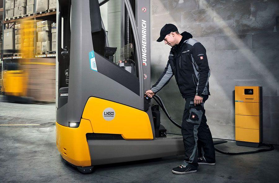 Úložiště energie pro vysokozdvižné vozíky
