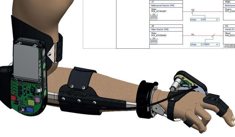 V SolidWorksu navrhnete elektronická schémata i spoje