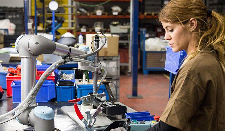 Kooperativní roboty přinášejí nové příležitosti malým a středním firmám